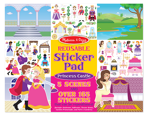 Removable Sticker Pad Princess Cover