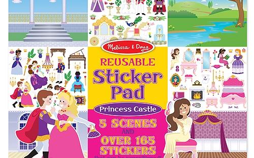 Removable Sticker Pad Princess Cover