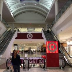 Target in a mall.  Sooooo convenient!