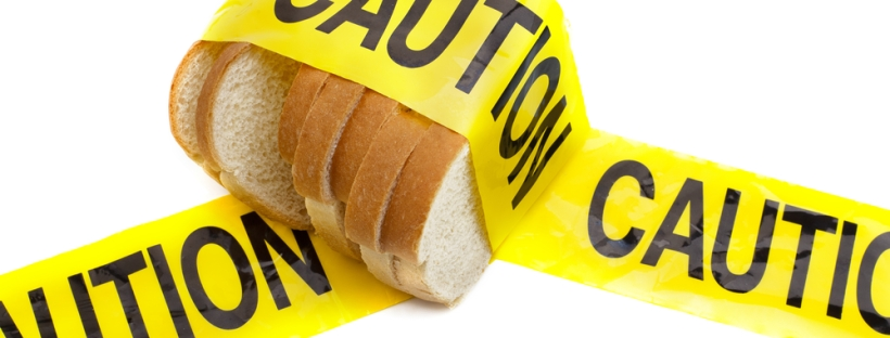 bread caution tape gluten free