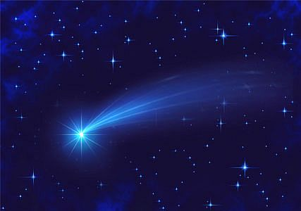 Shining Star shooting star make a wish