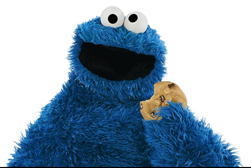 Cookie Monster cookies sesame street