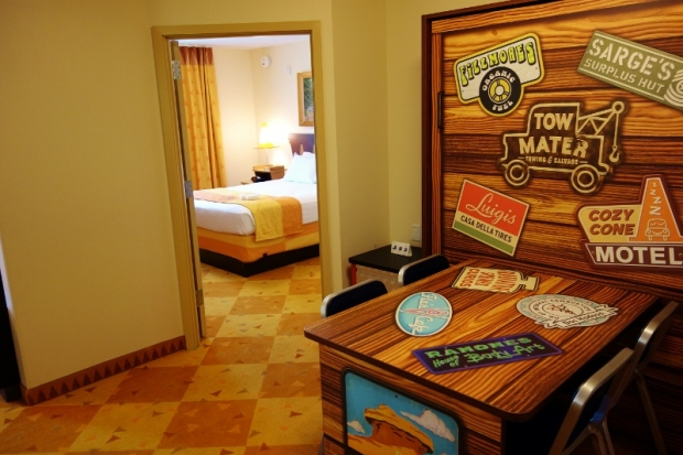 Cars Family Suite Art of Animation Disney hotel resort