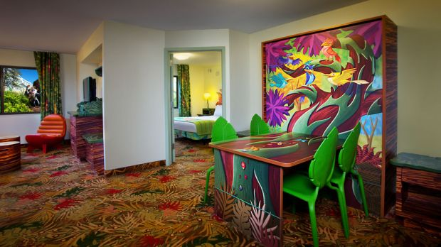 Lion King Family Suite at Disney Art of Animation Hotel