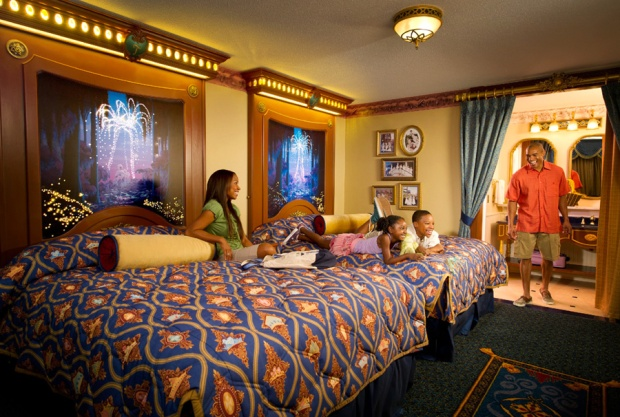 Happy Family at Port Charles Resort Disney World