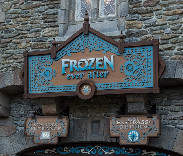 Frozen Ever After Walt Disney World Epcot Norway