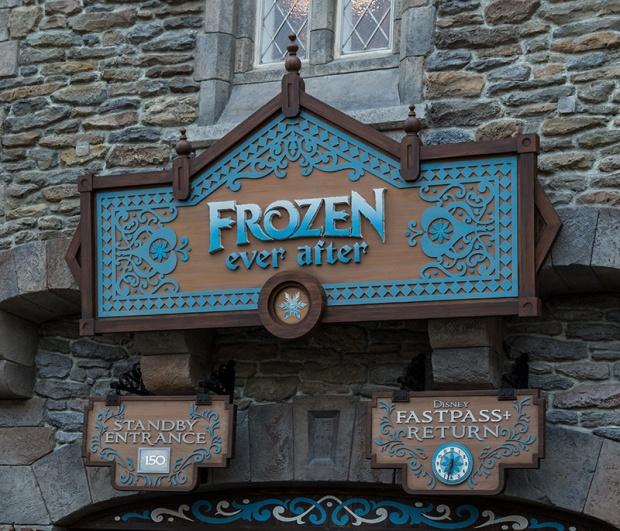 Frozen Ever After Walt Disney World Epcot Norway