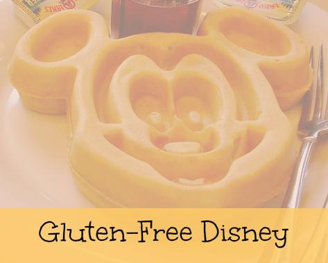 Gluten free Disney Dining food