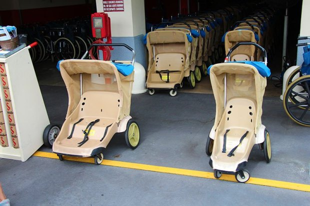 Walt Disney World single double Stroller rental