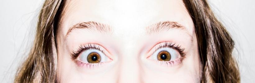 surprise big eyes