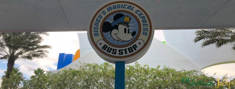 Disney World Magical Express Bus Stop