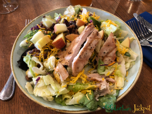 Walt Disney World Magic Kingdom Liberty Tree Tavern Colony Salad Gluten free Dining