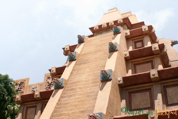 Epcot World Showcase Mexico Mayan Temple
