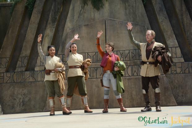 Trials of the Jedi Star Wars Hollywood Studios Disney World