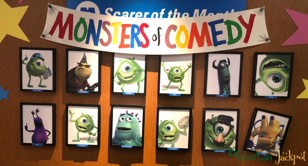 Walt Disney World Magic Kingdom Monsters Inc Laugh Floor