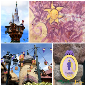 Walt Disney World Magic Kingdom Tangled Fantasyland