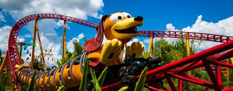 Slinky Dog Dash Toy Story Land Hollywood Studios Disney World Roller Coaster