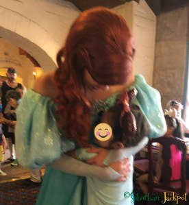 Ariel Akershus Character Breakfast Walt Disney World Epcot