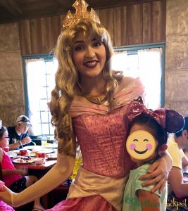 Aurora Akershus Character breakfast Walt Disney World Epcot