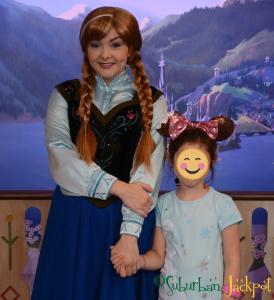Walt Disney World Epcot Anna Frozen Royal Sommerhaus Character Meet and Greet
