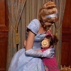 Walt Disney World Magic Kingdom Cinderella Fairytale Hall Character Meet and Greet