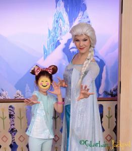 Walt Disney World Epcot Elsa Frozen Royal Sommerhaus Character Meet and Greet