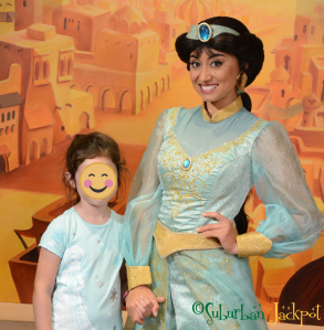 Walt Disney World Epcot Jasmine Aladdin Morocco Character Meet and Greet