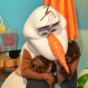 Walt Disney World Hollywood Studios Frozen Olaf Character Meet and Greet