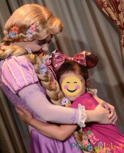 Walt Disney World Rapunzel Tangled Character Meet and Greet Fairytale Hall