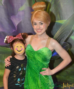 Walt Disney World Magic Kingdom Tinker Bell Character Meet and Greet