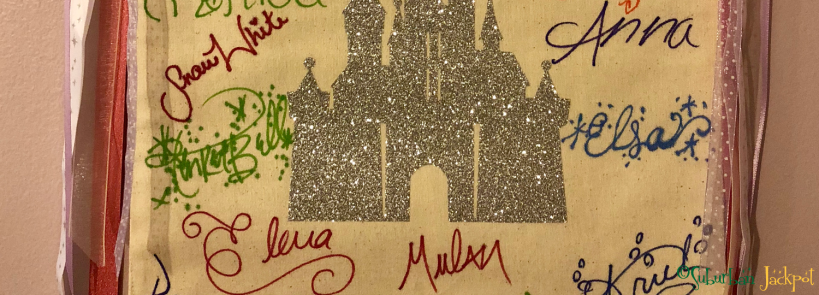 Walt Disney World Autographs Anna Snow White Elsa Frozen Elena Mulan Ariel Princess Character