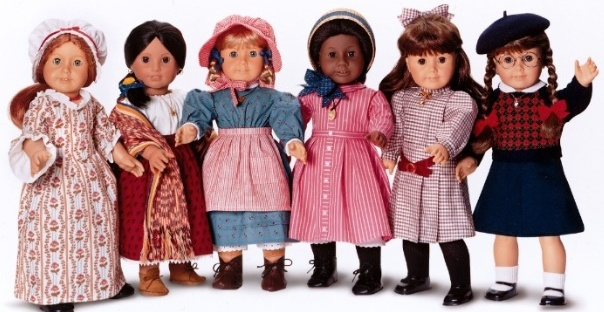 Pleasant Company American Girl dolls Kirsten Addy Samantha Molly