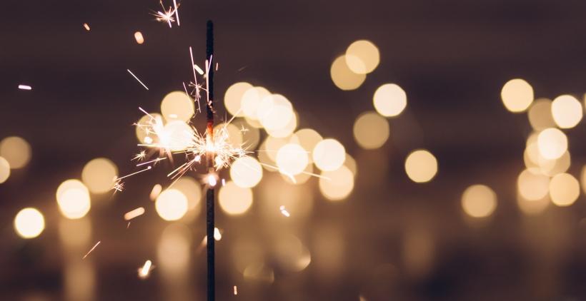 Firework New Year Sparkler Celebration