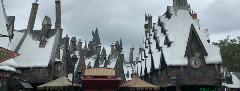 Hogsmeade Harry Potter Universal Islands of Adventure Butterbeer