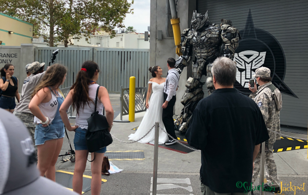 Megatron Transformers Universal Studios Wedding