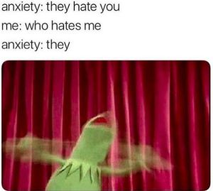 Kermit Anxiety meme