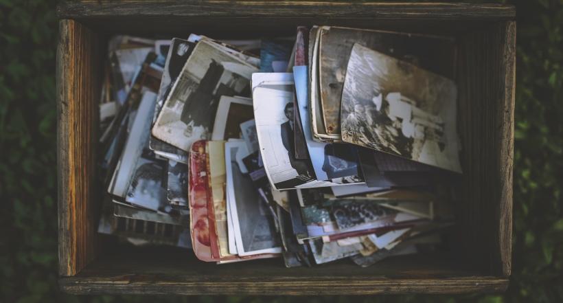 Memories box photographs nostaligic